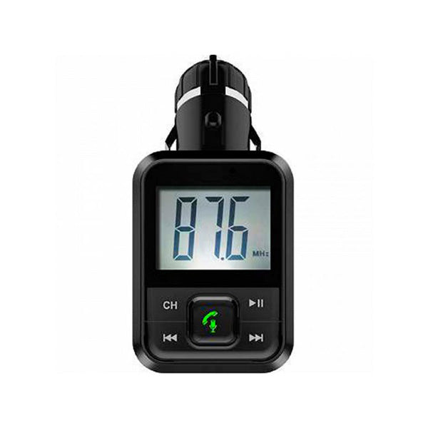 MP3 Player and FM Bluetooth Transmitter for Cars BSL BSL-24 Hands-free Black