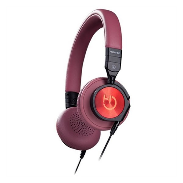 Headphone with Microphone Hiditec WHP010000 Brown