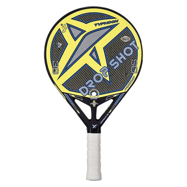 Padel Racket Drop Shot Typhon Charcoal 38 Mm