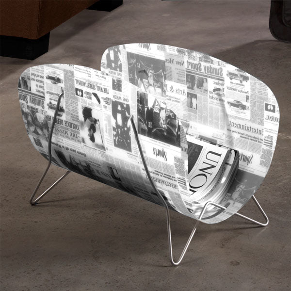 Newspaper Magazine Rack