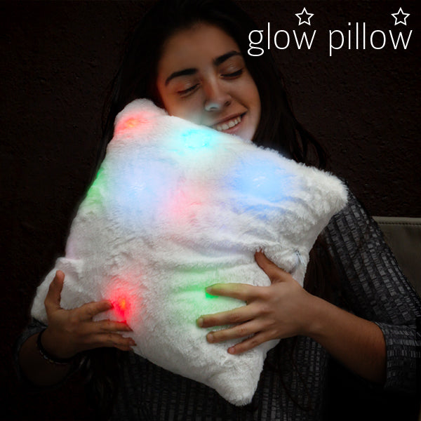 LED Lighted Glow Pillow