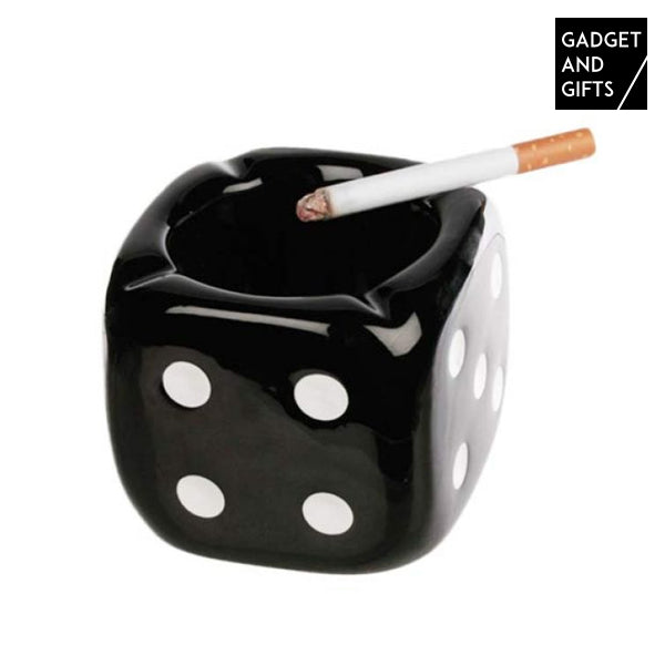 Dice Ceramic Ashtray