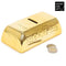 Gold Bar Ceramic Money Box