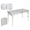 Folding Table Aluminium (120 X 45 x 60 cm)