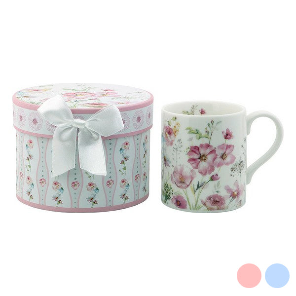 Cup 116151 Flowers White Pink