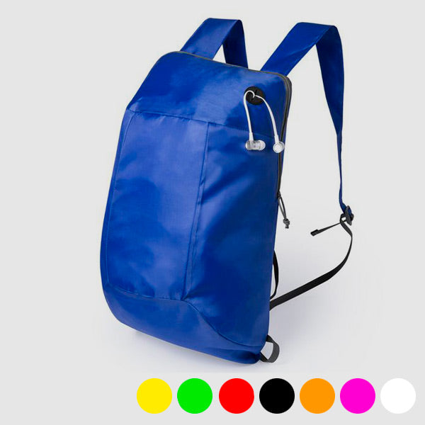 Foldable Rucksack with Headphone Output 145567