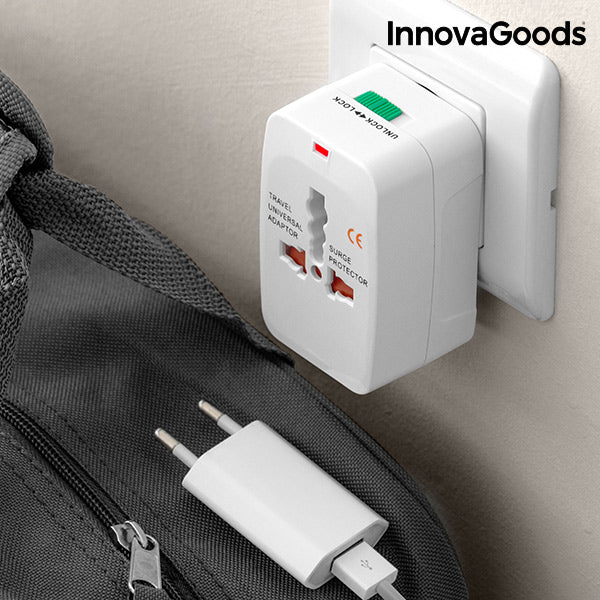 InnovaGoods Universal Travel Adapter