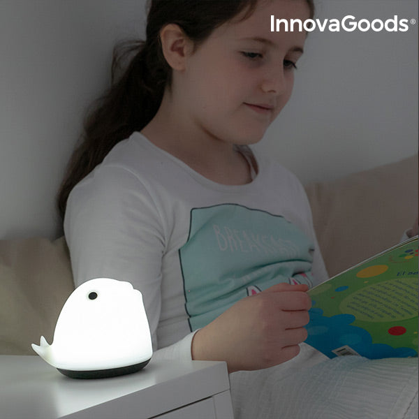 InnovaGoods Rechargeable Silicone Lamp Whale