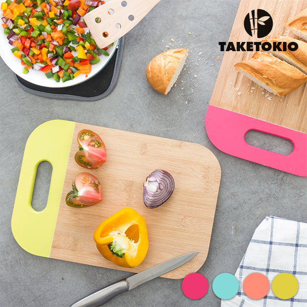 TakeTokio Bamboo Chopping Board with Handle