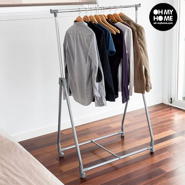 Portable Folding Clothing Rack