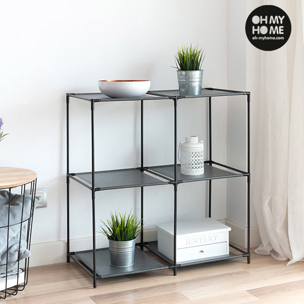 Oh My Home Metal Shelving Unit (6 Shelves)