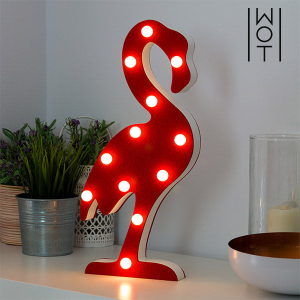 Wagon Trend Flamingo LED Lamp (12 LED)