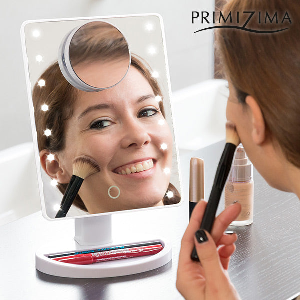 Primizima LED Magnifying Mirror for Putting on Make up