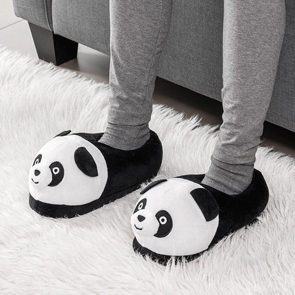 Soft Children's Panda Slippers