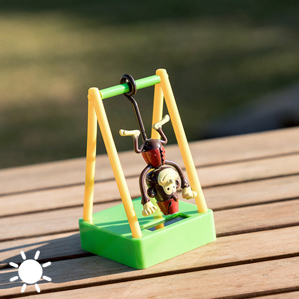 Solar-Powered Swinging Monkey