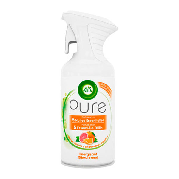Air Wick Pure Essential Oil Energising Spray Air Freshener