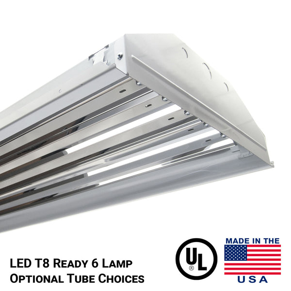 6 lamp  tube ready high bay light