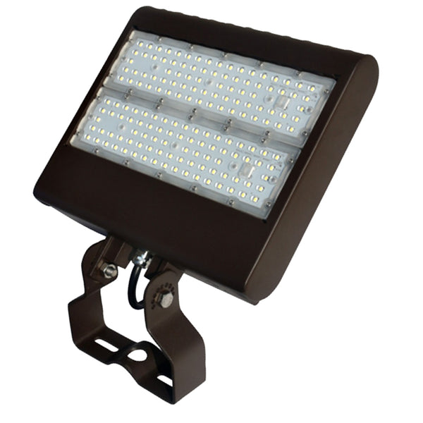 LED Flood Light by Howard Lighting, 100W, 13494 Lumens. 5 year warranty, UL Listed, DLC listed premium.