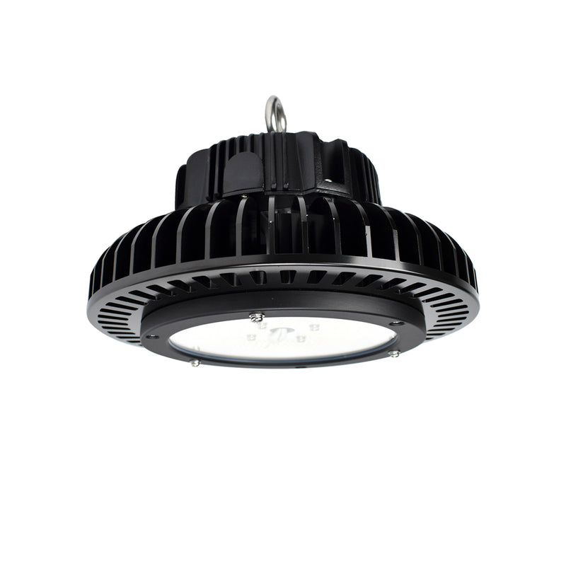 ATG Electronics Title 24 Compliant UFO LED High Bay Light 100W 120-277V 14100 lumens 5000k 0-10V Dimmable IP65 5 Year Warranty