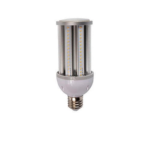 LED One Distribution LED Corn Bulb w E39 Mogul Screw Base 36W 120-277V 4340 lumens 5000k Not Dimmable Damp Location Rated 5 Year Warranty