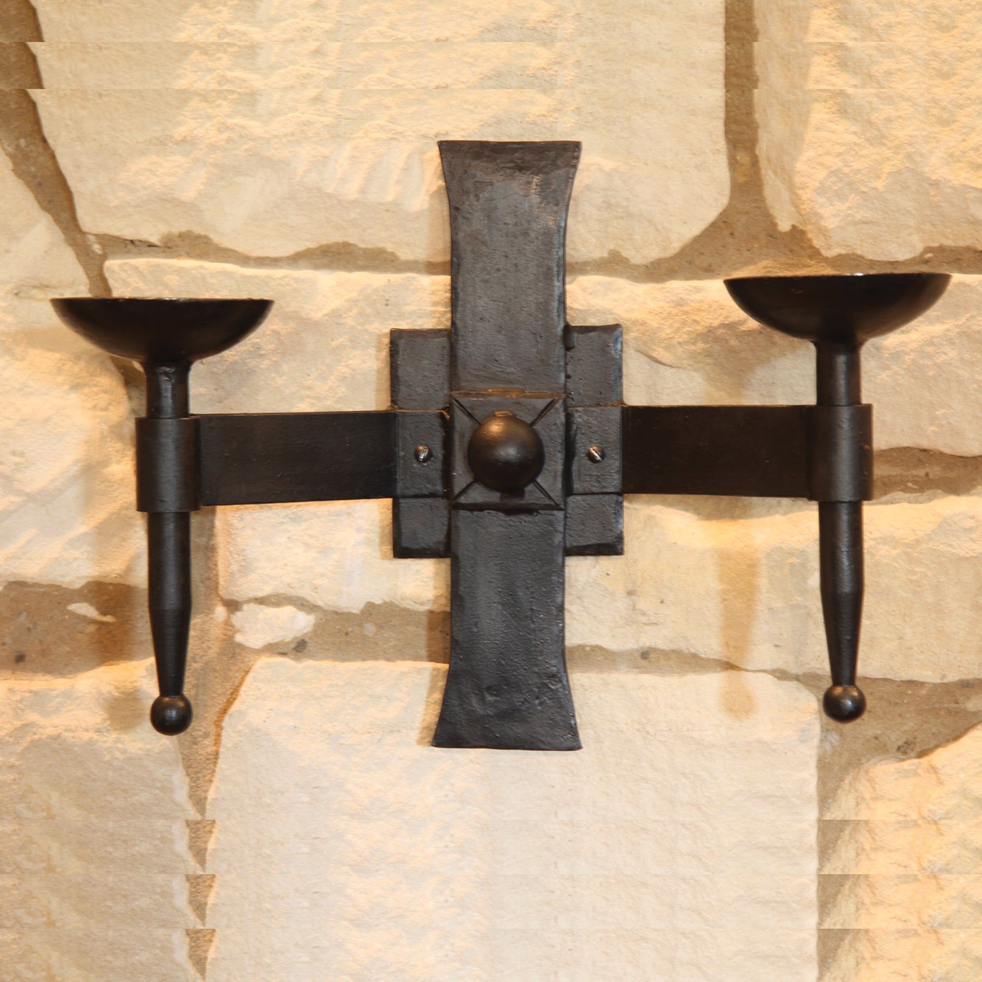 Wall Candle Holder - Canterbury Double