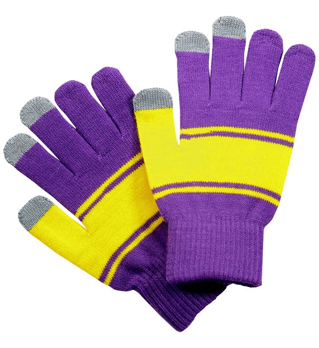 Homecoming Glove Purple/Light Gold