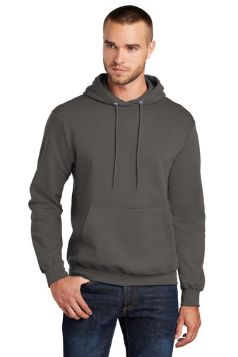Port and Company Core Fleece Pullover Hoodie Charcoal