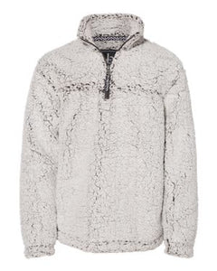 YOUTH Quarter Zip Sherpa Pullover