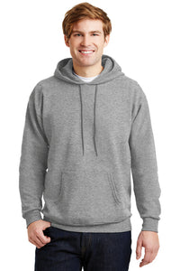 Hanes Comfortblend EcoSmart Pullover Hoodie Light Steel Small