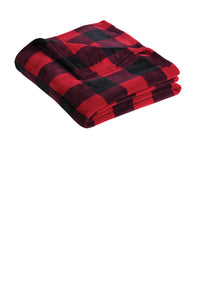 Port Authority Ultra Plush Blanket Buffalo Plaid