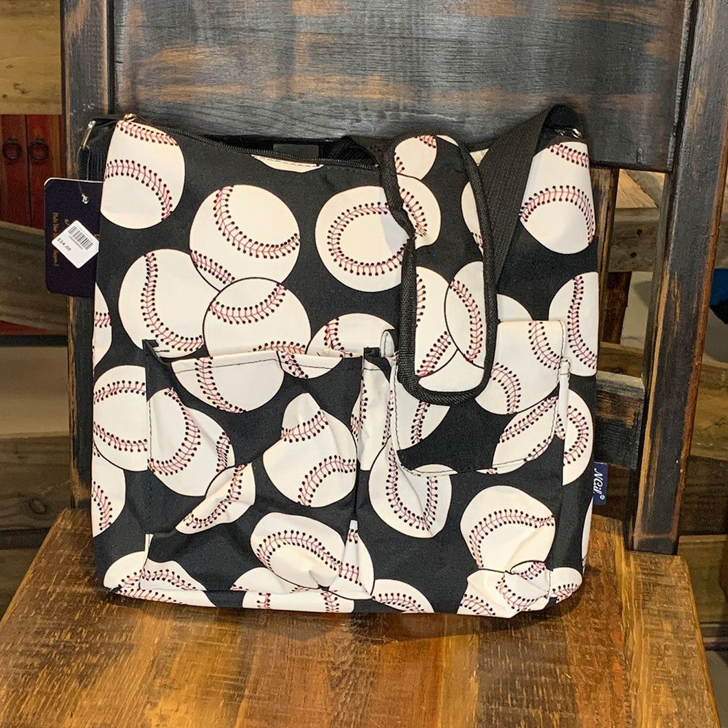 Baseball Crossbody Travel Bag