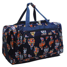 "Load image into Gallery viewer, Duffle Bag 23""- Colorful Cactus"