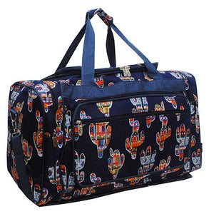 "Duffle Bag 23""- Colorful Cactus"