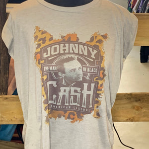 Johnny Cash Muscle Tee
