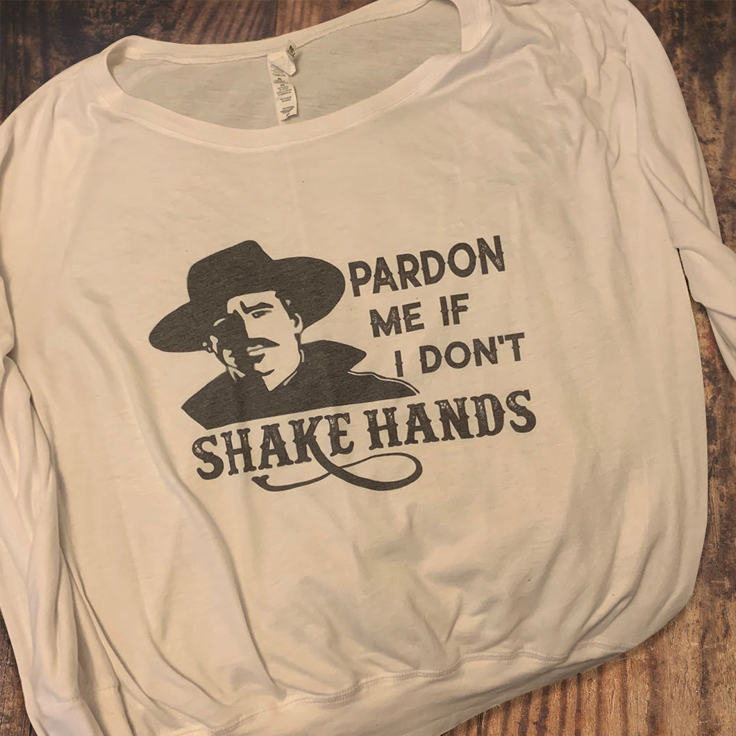 Pardon Me If I Don't Shake Hands