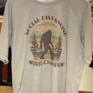 Social Distancing Champ Shirt
