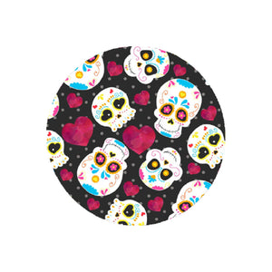 Sugar Skull Car Coaster