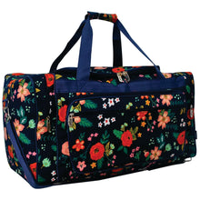 "Load image into Gallery viewer, Duffle Bag 23""- Floral Print"