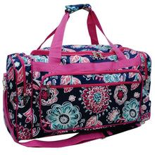 "Load image into Gallery viewer, Duffle Bag 23""- Medieval Blossom"