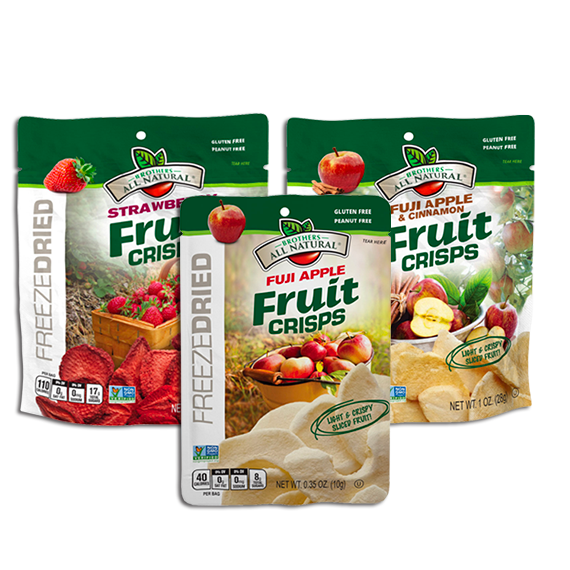 Freeze Dried Fruit Crisps - retail delivery