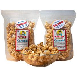 Popcorn Charlies - Carmel 1oz - business delivery
