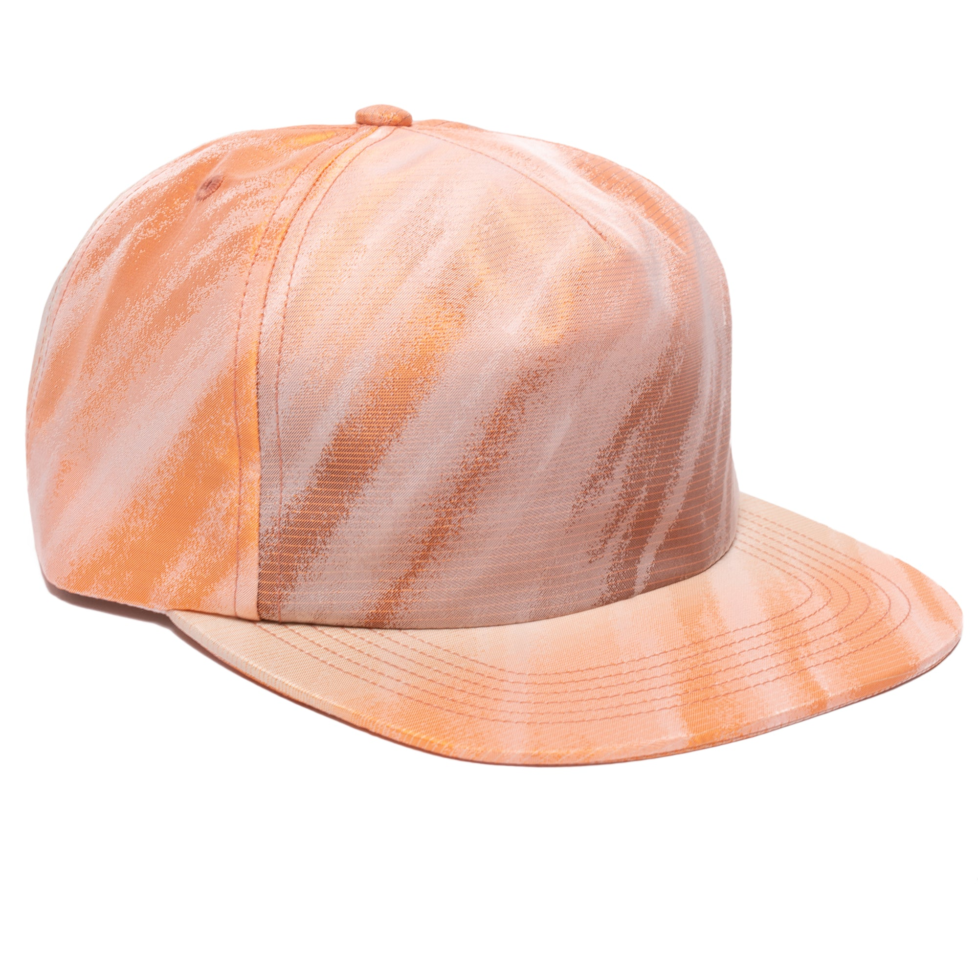 Silk Taffeta 5-Panel Hat