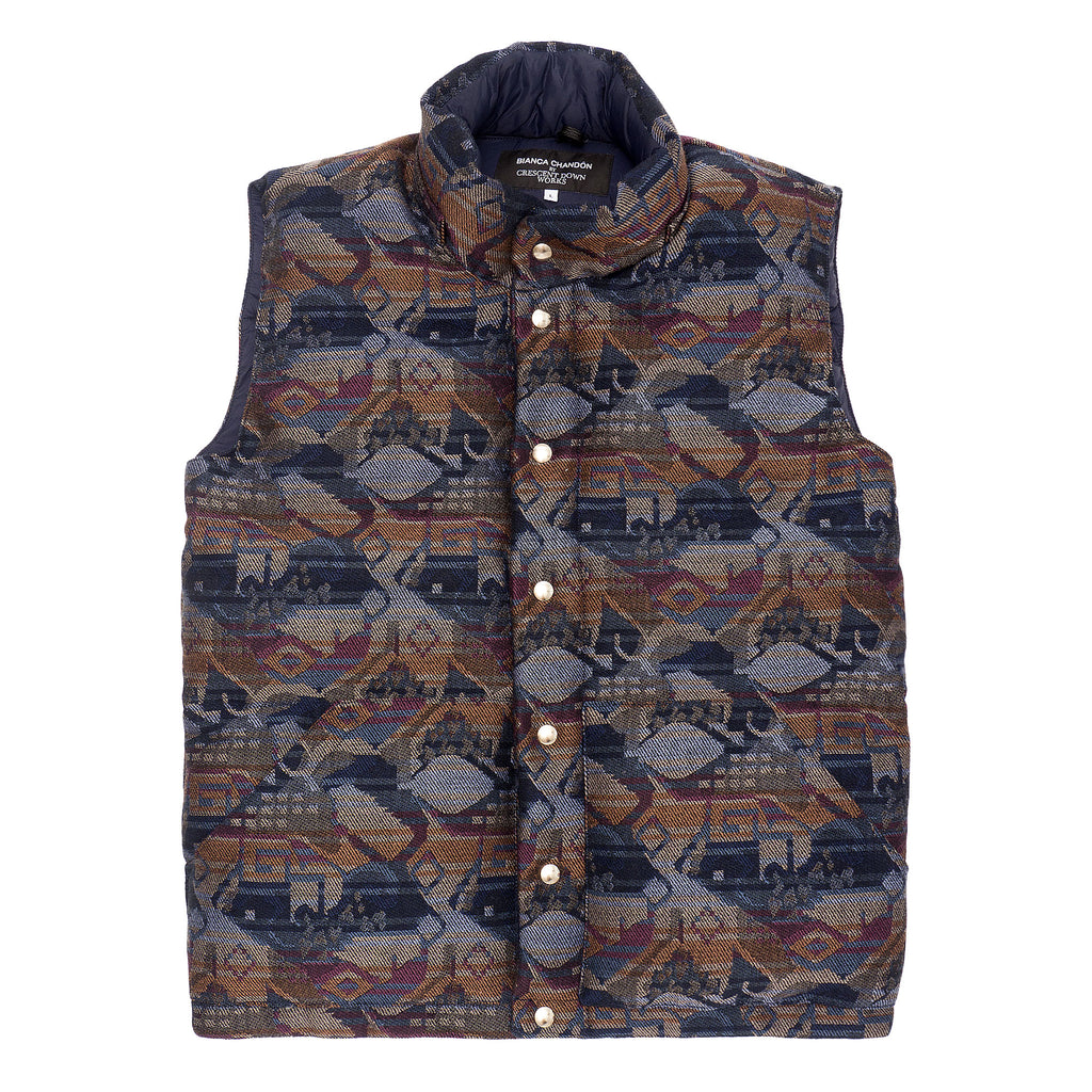 English Wool Down Vest