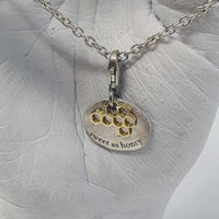 Alicia Mai Bjorg 'Sweet as Honey' Love Story Charm / Pendant