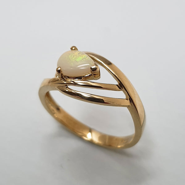 Alicia Mai Gold and Opal Ring