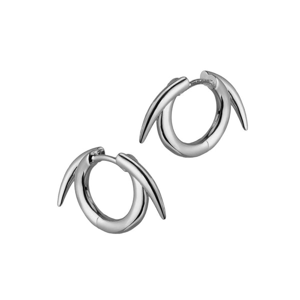 Alicia Mai Shaun Leane Thorn Hoop Earrings
