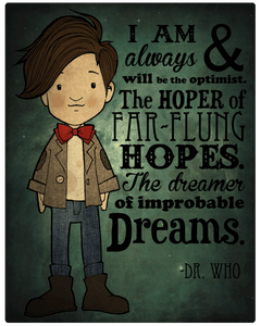 The Dreamer of Improbable Dreams - Dr Who