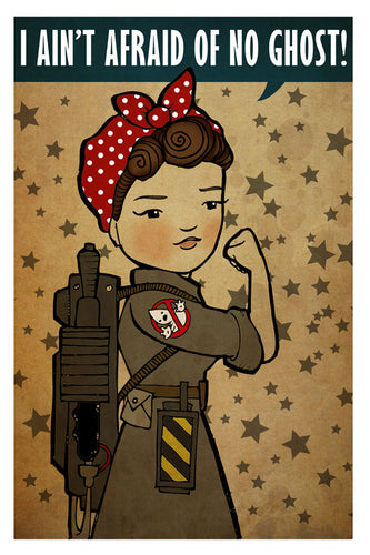 Rosie the Ghostbuster / Riveter Mashup