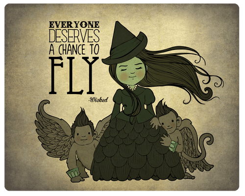 Elphaba, the Wicked Witch of Oz
