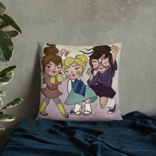 Load image into Gallery viewer, The Girls of Rock and Roll Pillow